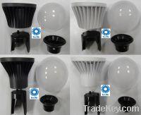 Sell 4W12W LED LIGHT LAMP BULB PLASTIC ALUMINUM PC BODY HEAT SINK COM