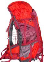 woman hiking pack