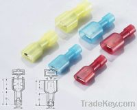 Sell male and female full- insualting connector , terminal