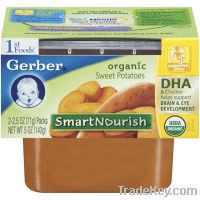 Sell GERBER 3RD FOODS BABY FOOD SWEET POTATO 12 CASE 6 OUNCE