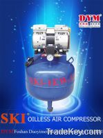 Sell silence oil-free air compressor