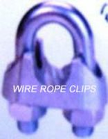 MALLEABLE AND STAINLESS STEEL WIRE ROPE CLIPS.
