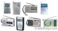 Sell Mini Pocket AM FM Radio with Torch