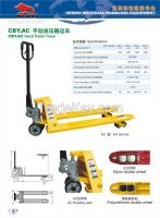 Sell CBY-AC hand pallet truck
