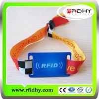 UHF rfid fabric wristband