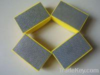 Best quality diamond hand polishing pads for glass