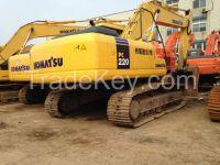 Sell Used Komatsu Excavator PC220-7/PC220-8/PC220-6