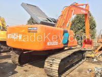Sell Used Hitachi Excavator EX200-3/EX200-2/EX200-1/EX200-5/EX120-3/EX120-2