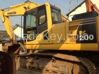 Sell Used Komatsu Excavator PC200-8/PC200-7/PC200-6