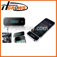 Wireless 3.5mm In-car Fm Transmitter with USB cable