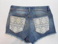 Sell Ladies Laces Denim Shorts