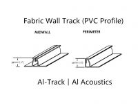 Fabric Wall Track(PVC Profile)