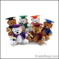 Sell 2013 plush customed stuffed teddy college graduation bears school