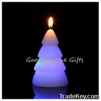 Sell religious christmas halloween coloured Eco led glow flash candle