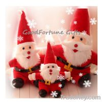 Sell plush stuffed santa clause doll toy decor christmas gift souvenir