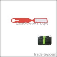 Sell pvc luggage tags label souvenir printed logo souvenir