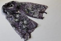 Double- layer polyester scarf