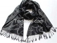 Jacquard scarf for Winter