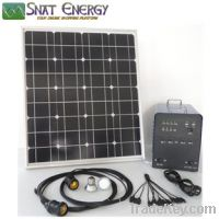300W Solar home power system for DC and AC loads