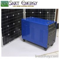 500W Solar home power system for home lighting and TV