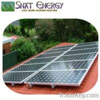 Sell SNAT Complete On grid solar home power system-SNT-1200W