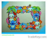 Sell Sell funny souvenir cartoon pvc photo frame