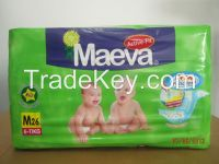 High quality stretchable tape baby diapers