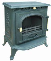 fireplace insert cast iron stove