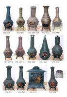 Sell chiminea fireplace mailbox folower pot chimenea chimney