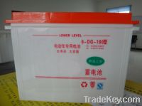 Tricycle battery 120AH 140AH Dry charge battery