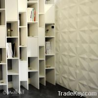 Sell 3d wallpanel for design and eco friendly wall decoration