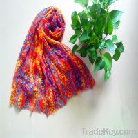 Sell Wholesale Light Weight Small Floral Printed Scarves