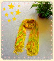 Sell fall autumn women scarf shawl cotton and bamboo scarf wrap stole