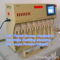 Sell LCD Touch Screen Large Format Printer Refilling Machine