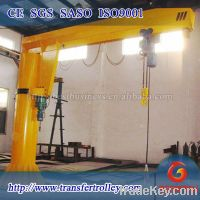 BEFANBY crane column mounted electric swing jib crane