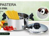 Handle lock pasta pot