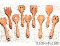 Bamboo kitchen tools
