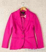 Sell women's knitting blazer candy color suits