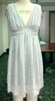 Women Casual silk dress V halter dress