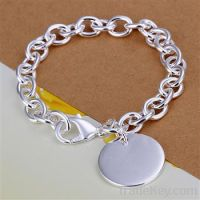 925 sterling silver palted fashion bracelets jewelry
