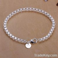 hot selling 925 sterling silver plated fashion bracelets