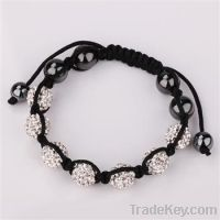 Hot selling fashion shamballa bracelets jewelry