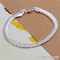 hot selling 925 sterling silver plated bracelet jewelry