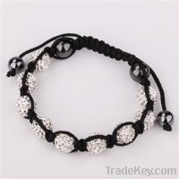 2013 hot selling shamball bracelets jewelry