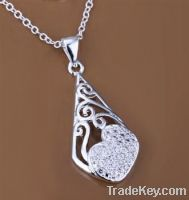 2013 hot selling 925 sterling silver plated pendants jewelry