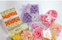 9pcs soap flower set