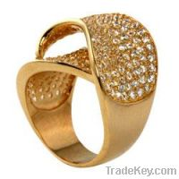 Sell Brass micro pave rings