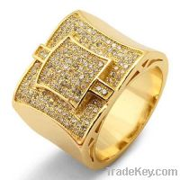 Sell offer New styles gold plated rings