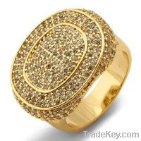 Hot Sell Brass micro pave rings