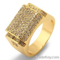 Sell Micro pave silver rings
